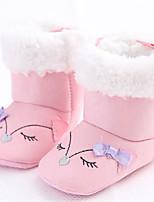 Baby Shoes - Tempo libero / Casual - Stivali - Tessuto - Rosa