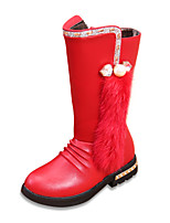 Girls' Shoes Dress / Casual Snow Boots / Comfort / Combat Boots Boots Black / Red