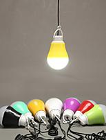 3-5㎡ 55CM Line 1M PVC Usb Small Night Light Outdoor Tents Small Droplight Led Energy-Saving Lamps Dormitory Led