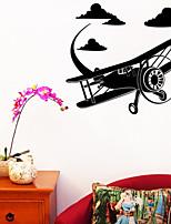De moda / Paisaje Pegatinas de pared Calcomanías de Aviones para Pared , PVC 61cm*53.3cm