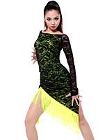 Accesorios ( Verde manzana / Rosa , Chinlon / Spandex / Poliéster , Danza Latina / Desempeño ) - Danza Latina / Desempeño - para Mujer