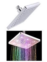 Douche pluie Contemporain LED ABS Classe A Chromé
