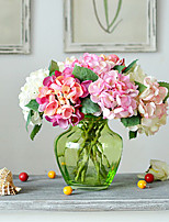 Pea Hydrangea in Silk Cloth Artificial Flower for Home Decoration(10Piece)