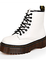 Women's Shoes Leather Flat Heel Snow Boots / Roller Skate Shoes / Fashion Boots / Motorcycle Boots / Bootie