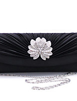Women Silk Envelope Clutch / Evening Bag - Gold / Red / Silver / Black