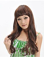 2015 Women Ombre Fashion Natural Wavy Janpanese Heat Resistant Synthetic Hair Wig XY019 26