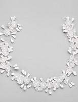 Celada Bandas de cabeza Boda / Ocasión especial Aleación / Perla Artificial Mujer / Niña de flor Boda / Ocasión especial 1 Pieza
