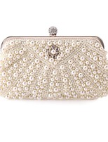 L.WEST®  Women's  Event/Party / Wedding / Evening Bag Pearl Diamonds Delicate Handbag