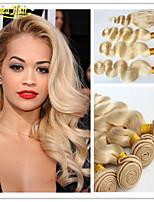 3 Pcs/Lot Peruvian Virgin Hair Body Wave Weave 1pc Free Part Lace Closure With Bundles 3pcs Body Wave Weaves