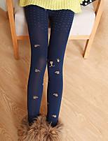 Women Print Legging , Cotton Thick