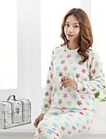 Pajama Donna Cotone Pesante