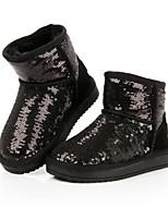 Baby Shoes - Tempo libero / Formale / Casual - Stivali - Finta pelle - Nero / Rosa