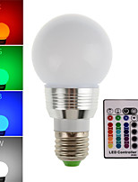 HRY® 5W E27 300LM RGB LED Lamp Light Bulb Remote Controlled 16 Color Changing(85-265V)