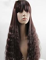 moda anime nero mais parrucca capelli ricci caldo