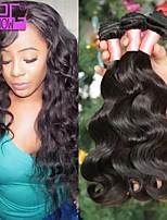 10-30inch onda do corpo no cabelo humano estoque onda do corpo não transformados cabelo humano trama