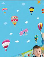 Fashion / Paesaggio Adesivi murali Adesivi aereo da parete , PVC 60cm*45cm