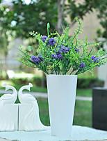 Pompoms Grass in Silk Cloth Artificial Grass Flower for Home Decoration(10Piece)