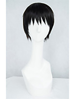 LanTing Cos Tokyo Ghoul Black Short Cosplay Wig Party Anime Hair
