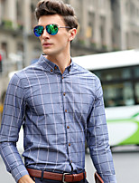 2015 new autumn spring men's fashion personality shirt
