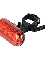 Bicycle Bike 3-Mode 5-LED Red Light Warning Safety Light