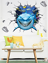 3D Plane Wall Stickers  Wall Decor , PVC Removable