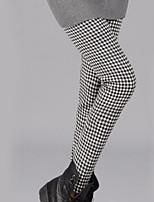 Women Print / Fleece Lined Legging , Cotton Thick
