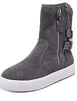 Women's Shoes Heel Comfort Boots Outdoor Black / Gray