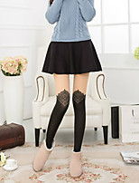 Women Ultra Warm Pantyhose , Cotton Blends / Nylon
