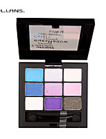 FULLILANS.Mei Nine Color Eye Shadow. Accentuated Makeup Look Easy To Build. 1 COLOR.F-0011  9.5g