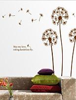 Botanical / Still Life / Florals / Landscape Wall Stickers Plane Wall Stickers , PVC 60cm*90cm