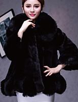 Women Raccoon Fur Top , Lined