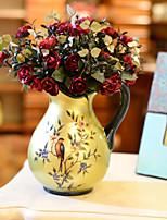 Fibre Roses Fleurs artificielles