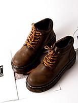 Women's Shoes Platform Combat Boots Boots Casual Black / Taupe