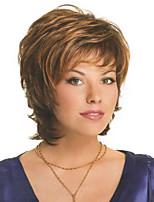 monofilamenttilanka alkuun (1 tuuma) ihmisen neitsyt Remy upea kampaus korkiton suorat hiukset peruukit