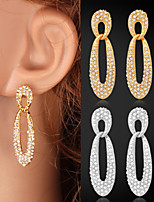 InStyle Luxury Women's Charm Drop Dangle Earrings 18K Gold Platinum Plated Austrian Rhinestone for Women High Quality