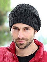 Men's Warm Knitting Wool Knitted Hat