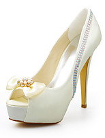 Women's Wedding Shoes Heels Sandals Wedding / Party & Evening / Dress Ivory / White