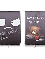 Pour Etuis coque Avec Support Rotation 360° Origami Coque Intégrale Coque Bande dessinée Cuir PU pour iPad Mini 4