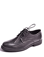 Men's Shoes Office & Career / Party & Evening / Casual Leather Oxfords Black