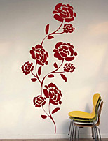 Botanical / Fashion Wall Stickers Plane Wall Stickers , PVC 61cm*25.4cm