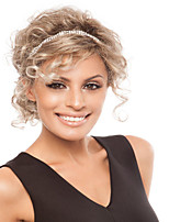 Beautiful Hot Sale  European Meduim Light Blonde Synthetic Wave Extension Top Quality