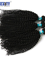 3 Pcs /Lot 8-28inch Brazilian Kinky Curly Virgin Hair 100% Brazilian Human Hair Weave Bundles