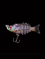 Hot 2'' 5cm 2.5 Grams Slow Sinking Jointed Swimbait Bluegill Shad Crankbait New Fishing Lure