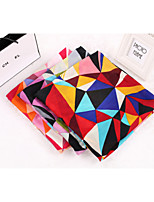 Korean Version Winter Colorful Plaid Cotton Twill Large Scarf Shawl Scarves Women