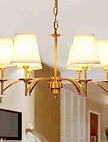 Lampe suspendue - Traditionnel/Classique - avec Cristal / Style mini - Métal