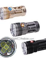3 Mode 6000 Lumens LED Flashlights 18650 Waterproof LED Cree XM-L2