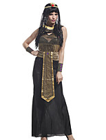 Performance Dresses Women's Performance Polyester Lace 5 Pieces Black And Gold