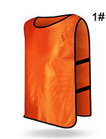 Others Women's / Men's Sleeveless Soccer Tops Football Free Size(Assorted Color)