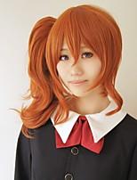 cos Lanting Tonari no Kaibutsu-kun meu pequeno monstro laranja longo cosplay peruca partido anime cabelo