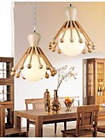 Luzes Pingente - Madeira/Bambu - Lâmpada Incluída -Sala de Estar / Quarto / Sala de Jantar / Quarto de Estudo/Escritório / Quarto das